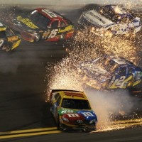 Sparks Fly at the Budweiser Shootout